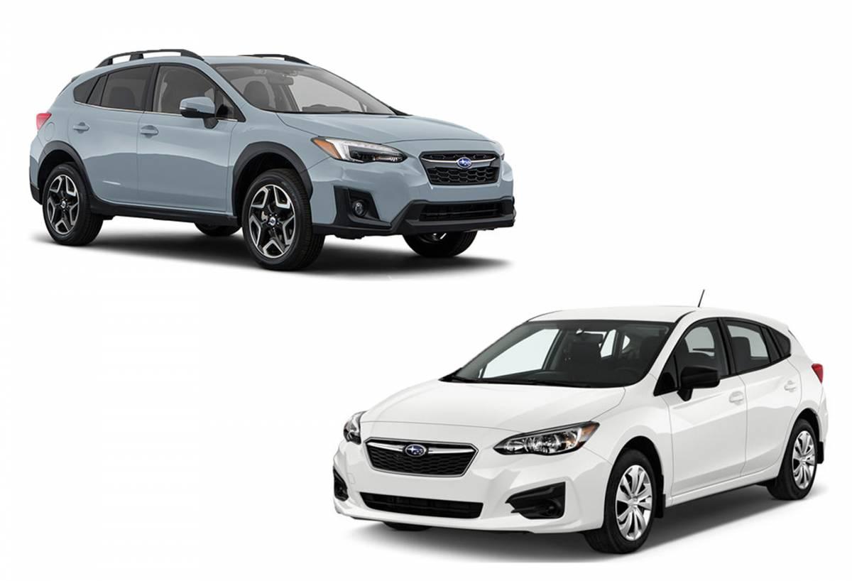 Subaru Cars Recall
