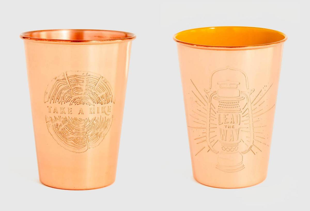 United By Blue Copper Tumblers