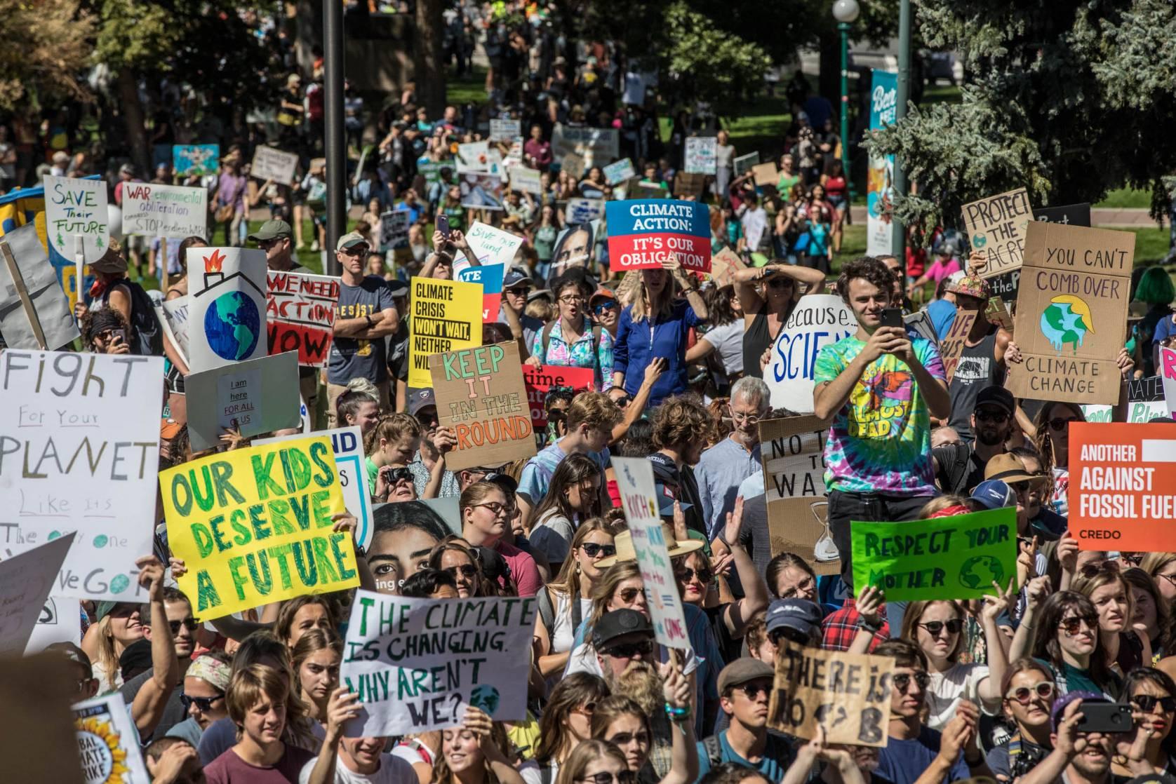 Climate Strike Denver