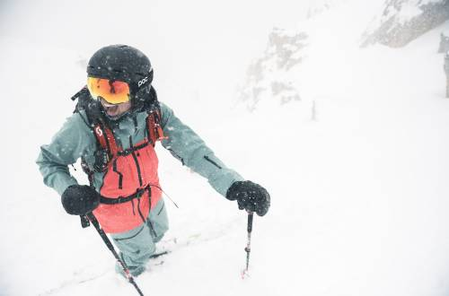 Backcountry Semiannual Sale Skiing in Snow Powder