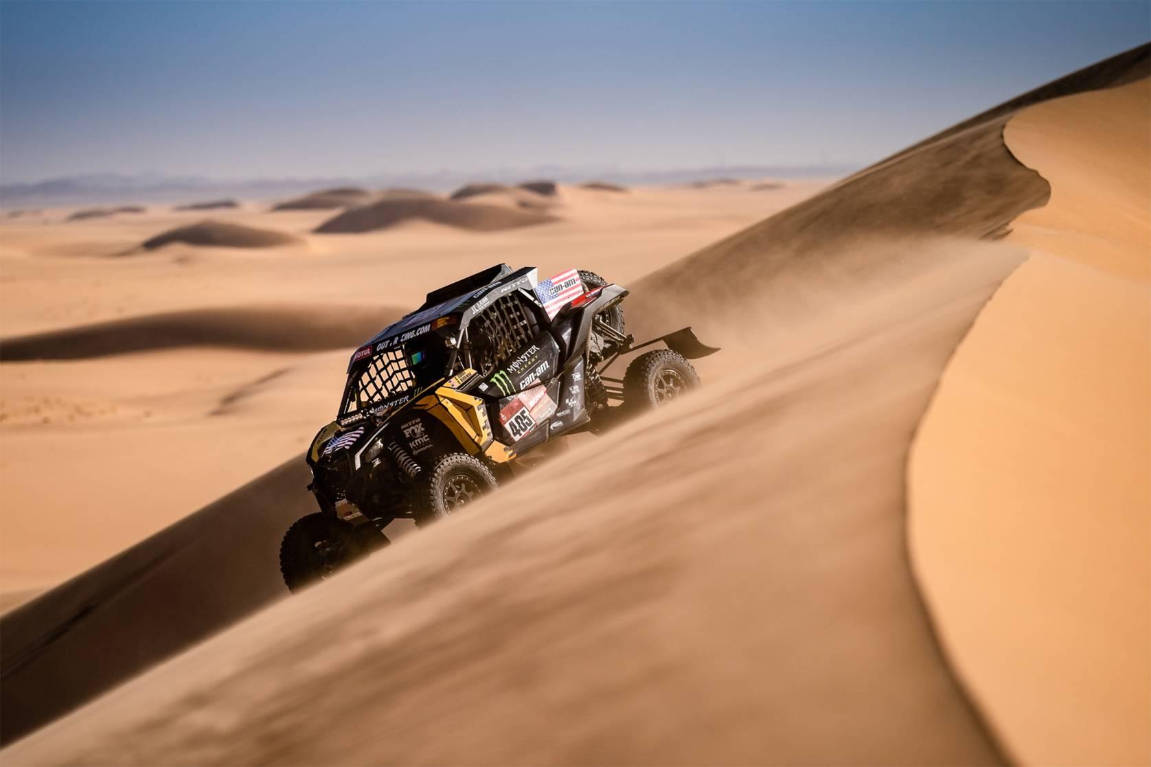 Casey Currie Dakar 2020 Can-Am Maverick