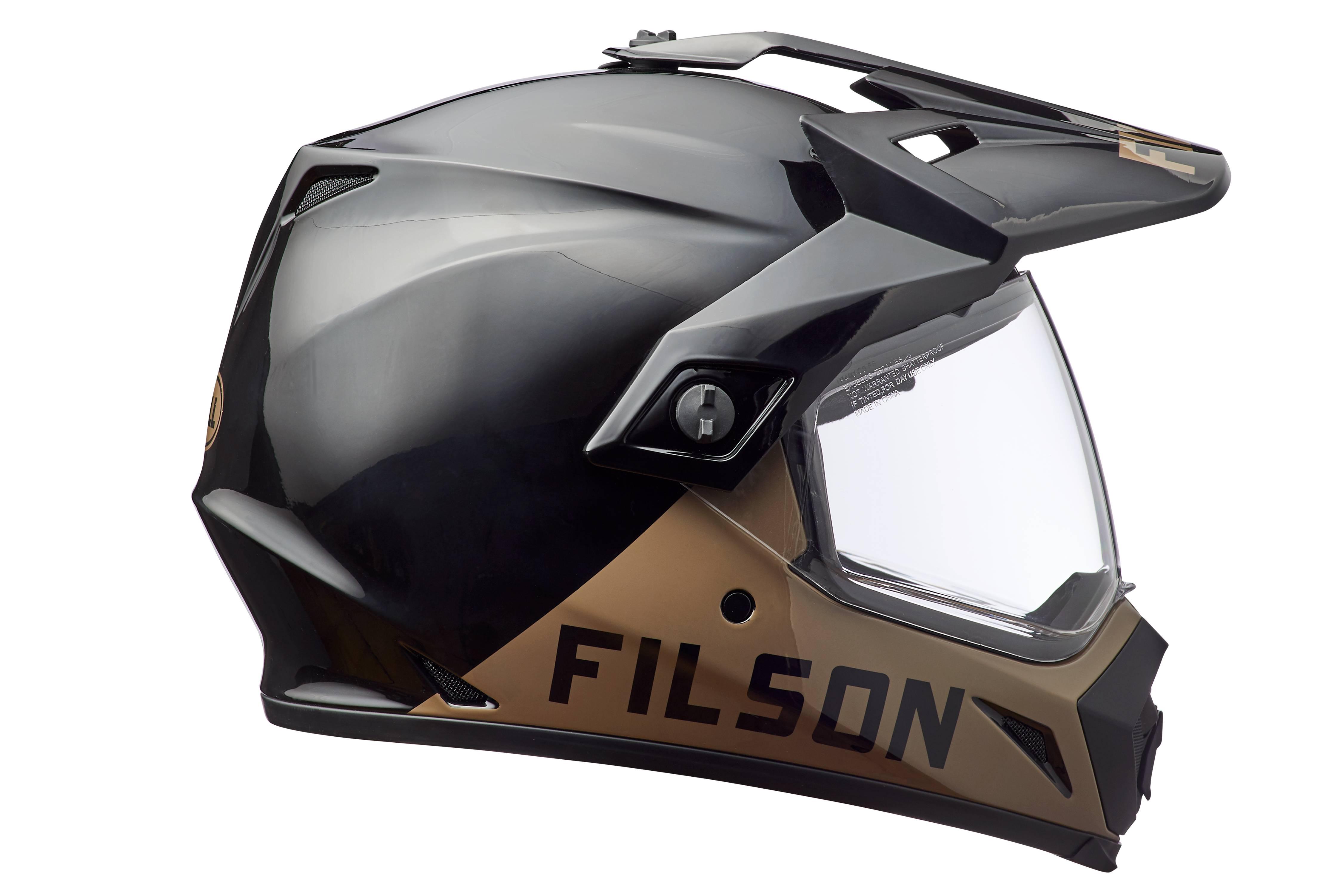 Filson Alcan motorcycle helmet