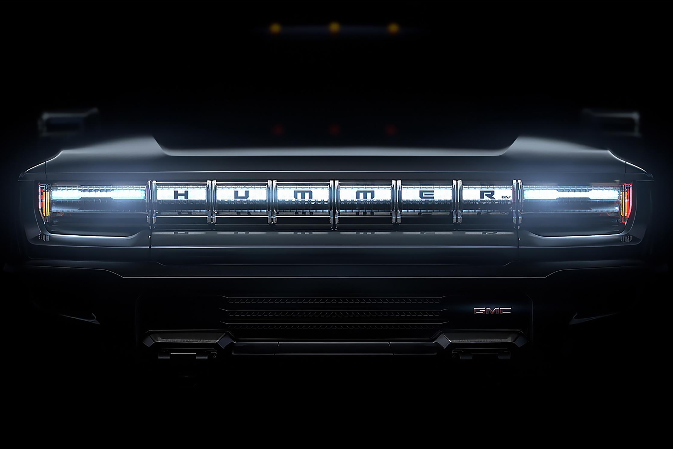 GMC electric Hummer