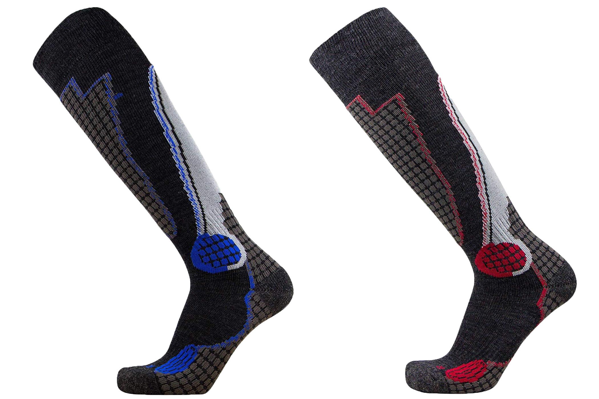 PureAthlete High Performance Wool Ski Sock