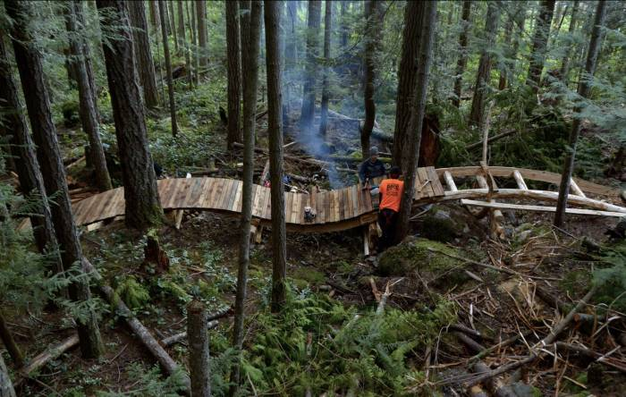 Fighting Flames, Blazing Trails: This Forest Firefighter Builds Singletrack