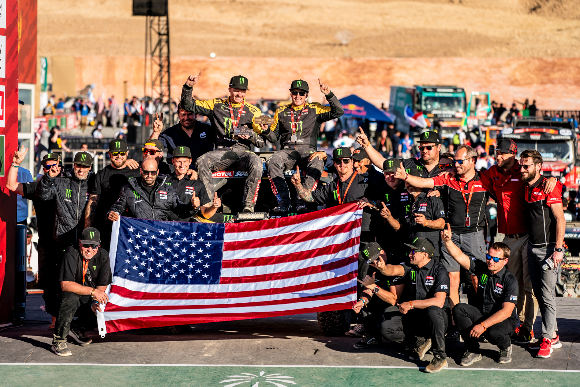 Americans Win Dakar Rally for First Time Ever   GearJunkie