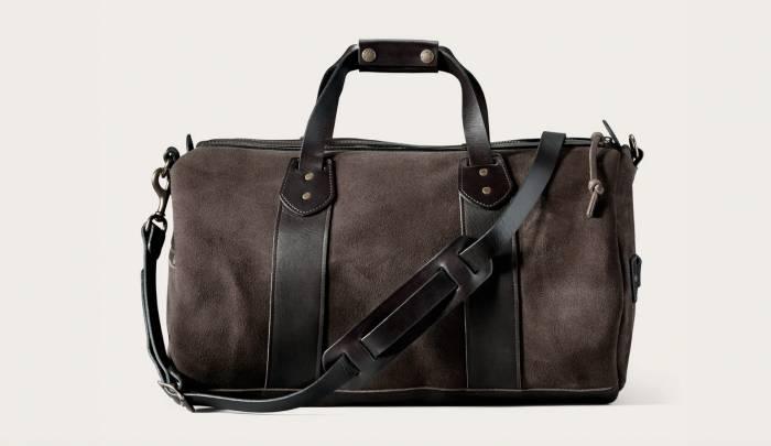 filson leather duffle on sale
