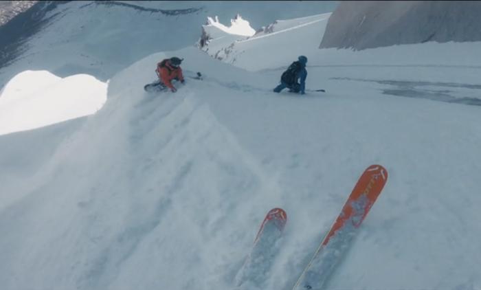'Like Breathing': Snowboarder Rides Extreme in Chamonix