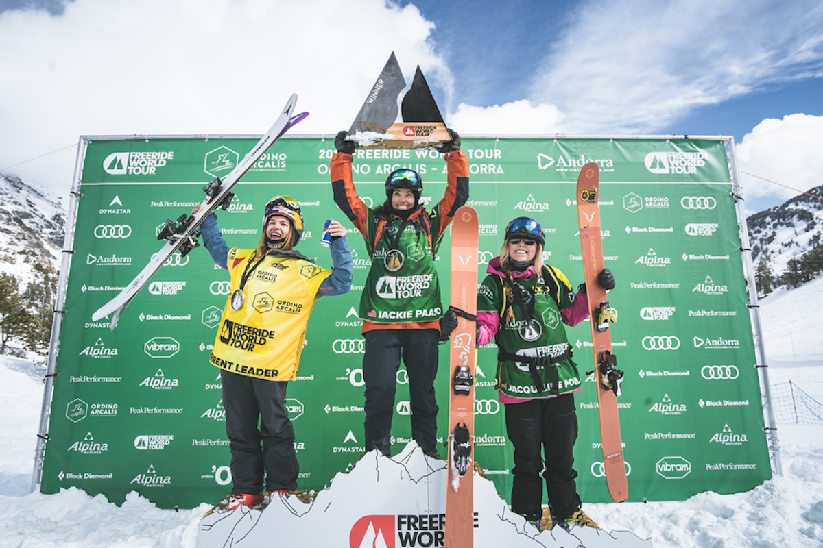 Freeride World Tour female skiers