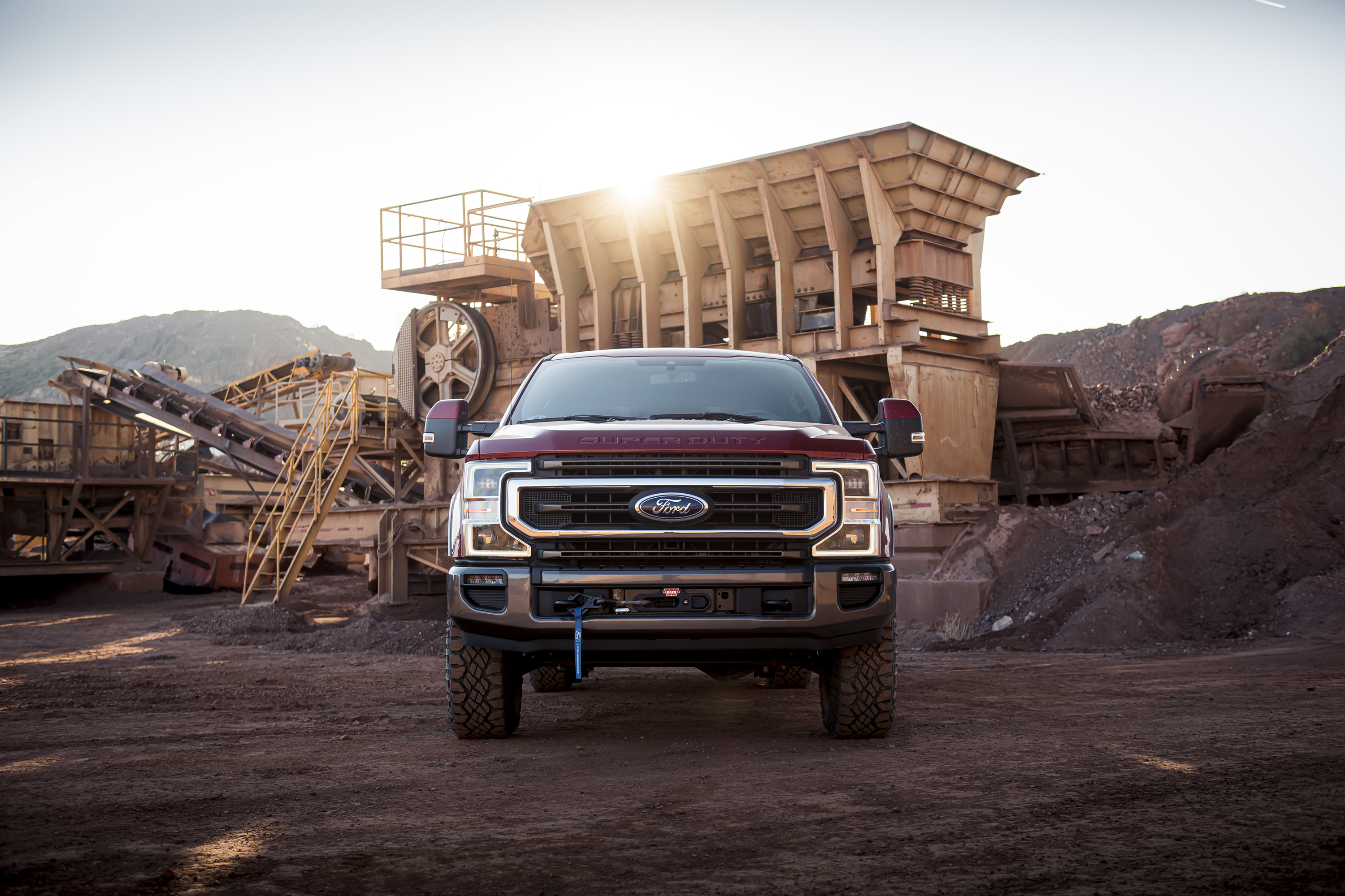 Ford 'Tremor' Packs Factory Winch, Rivals RAM Power Wagon