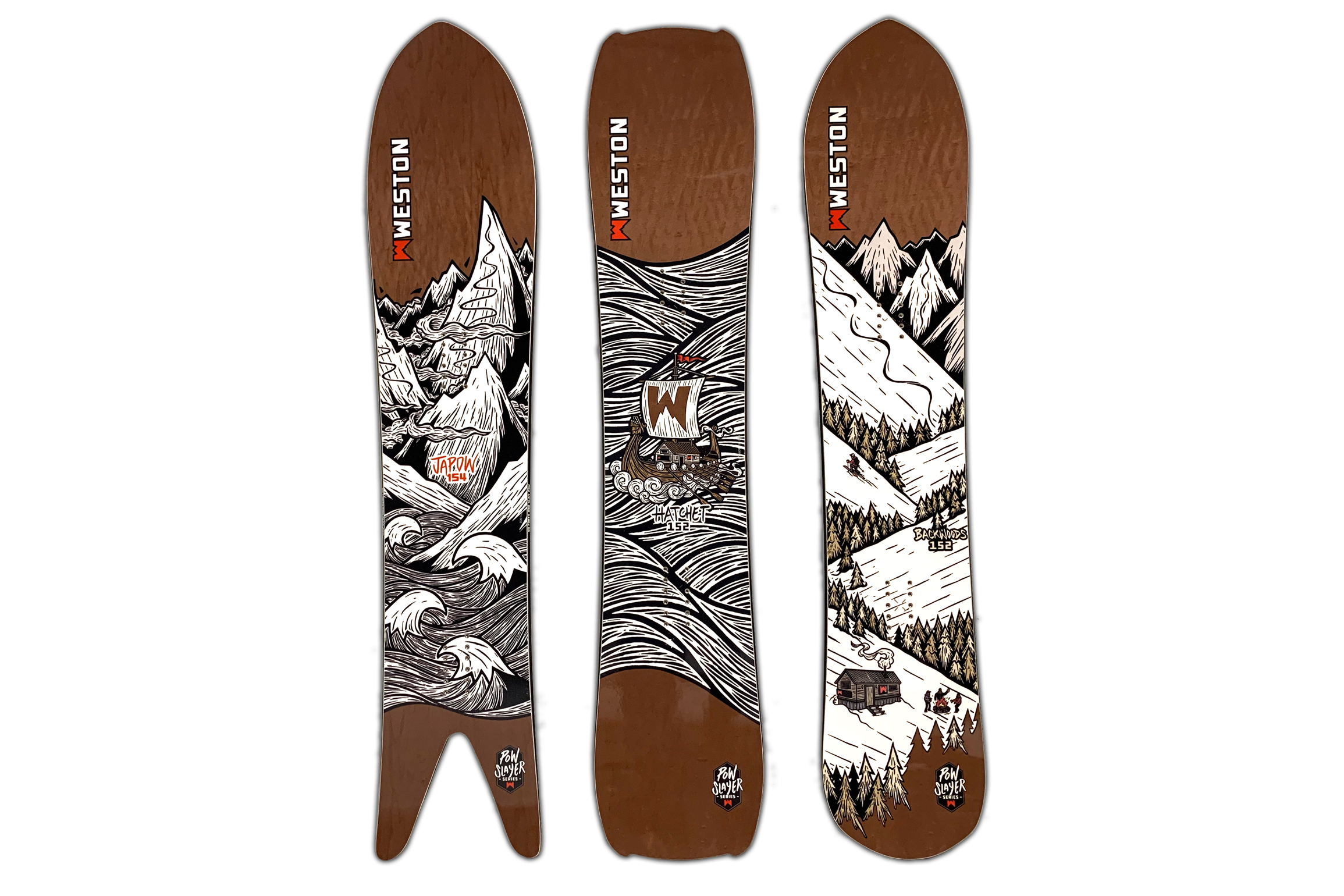 Weston POW Slayer snowboard