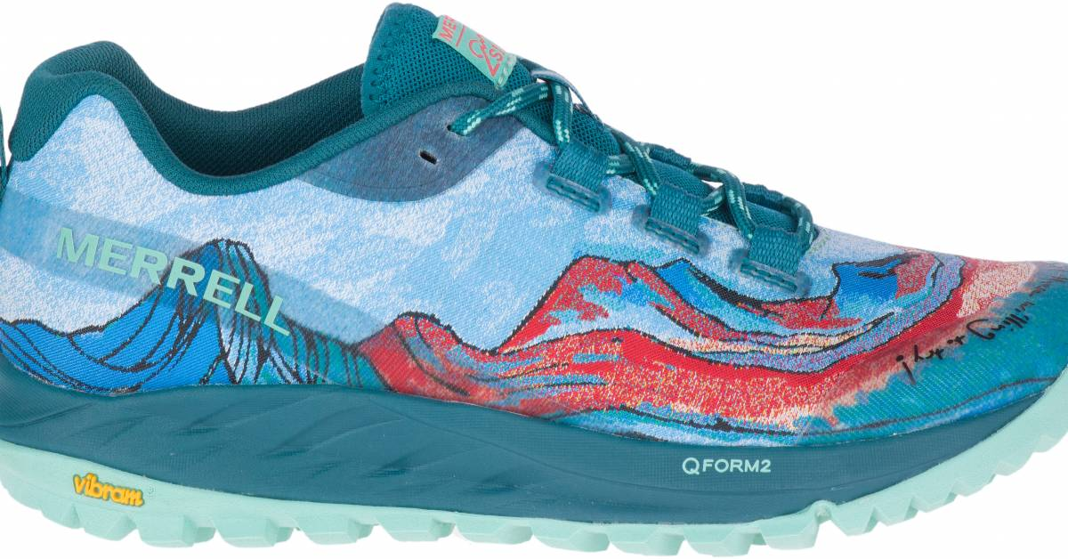 Merrell's New Artist-Designed Trail Shoes Have a Mission: More Women Running   GearJunkie