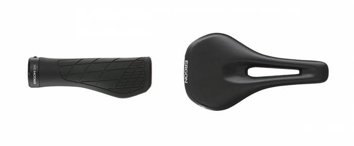 Bike Grips and Seat