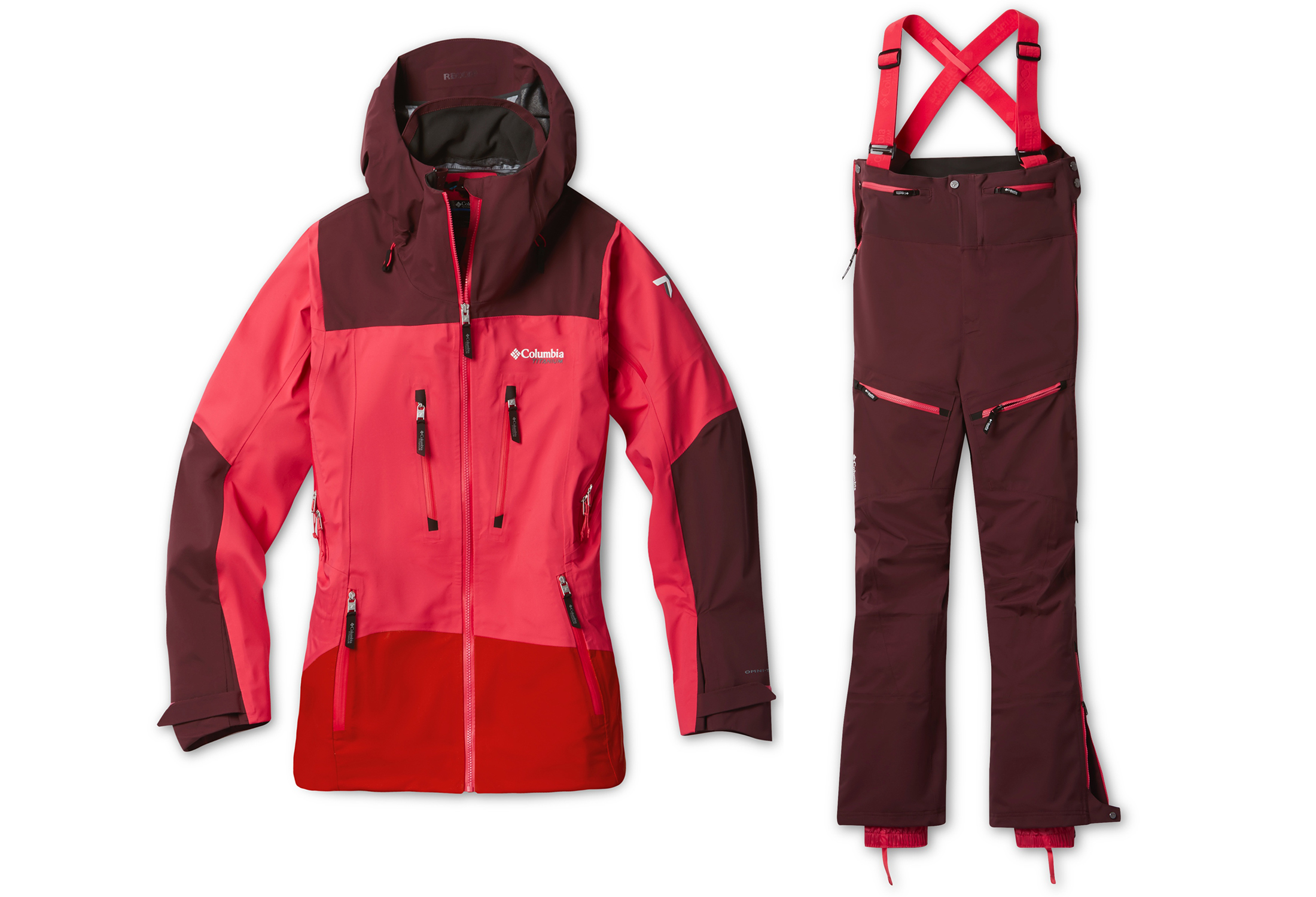 Columbia Peak pursuit ski kit