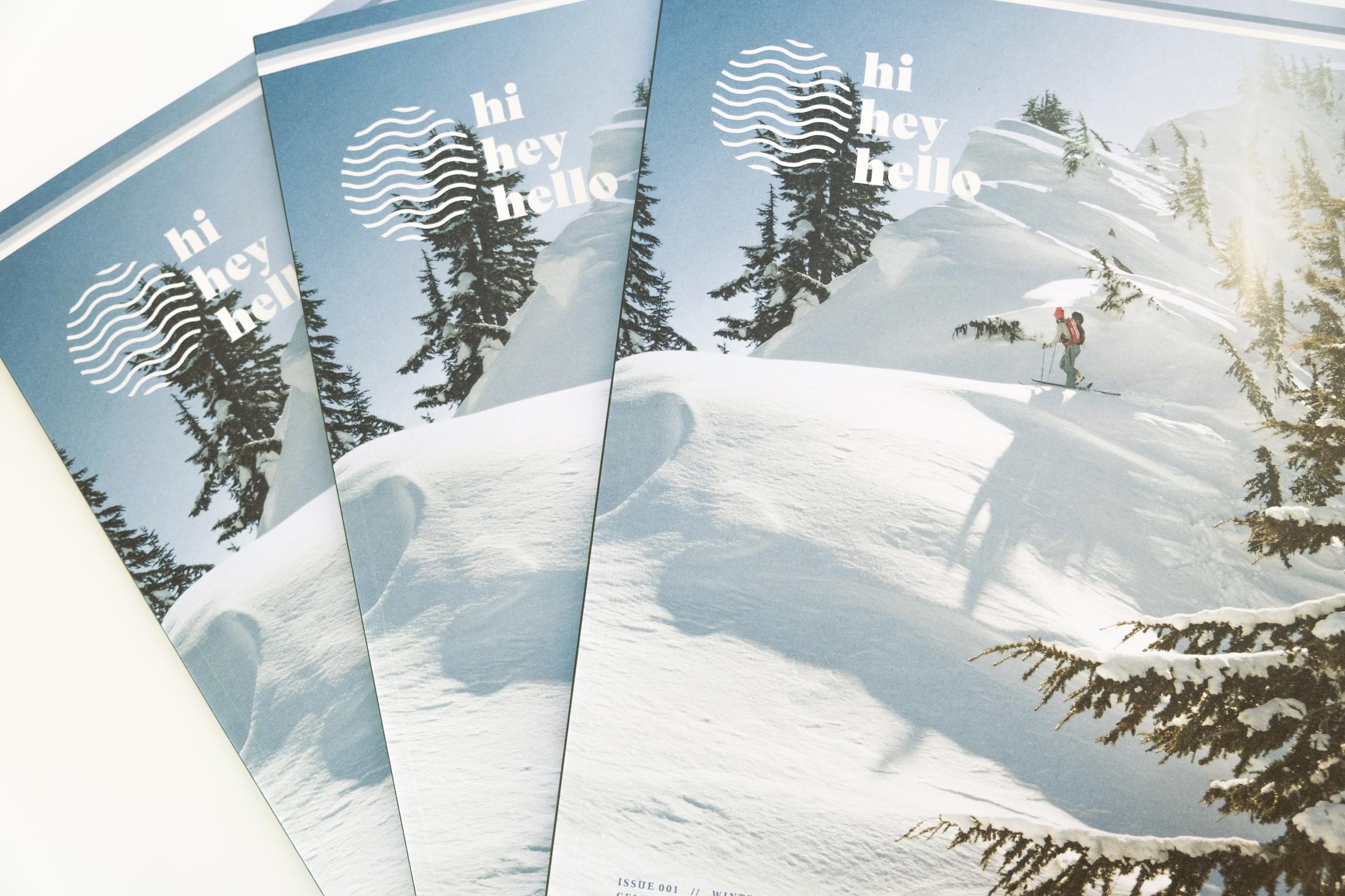 HiHeyHello Magazine covers