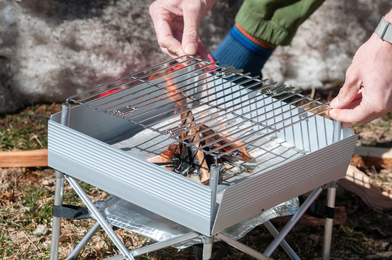 Fireside Outdoor Trailblazer fire pit grill