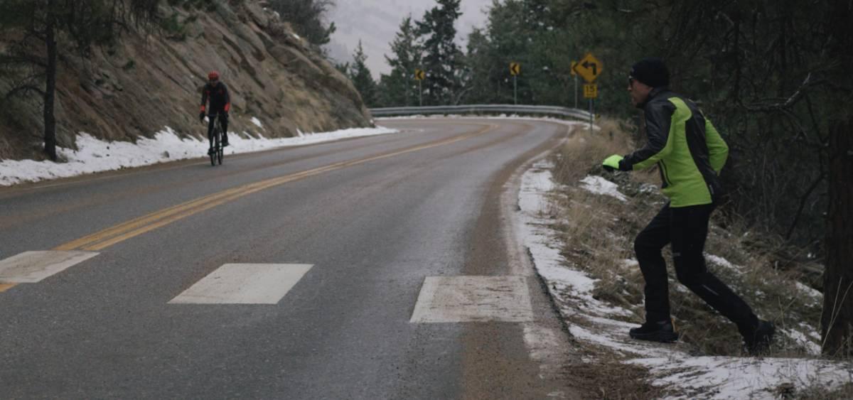 Flagstaff Road crossed paths