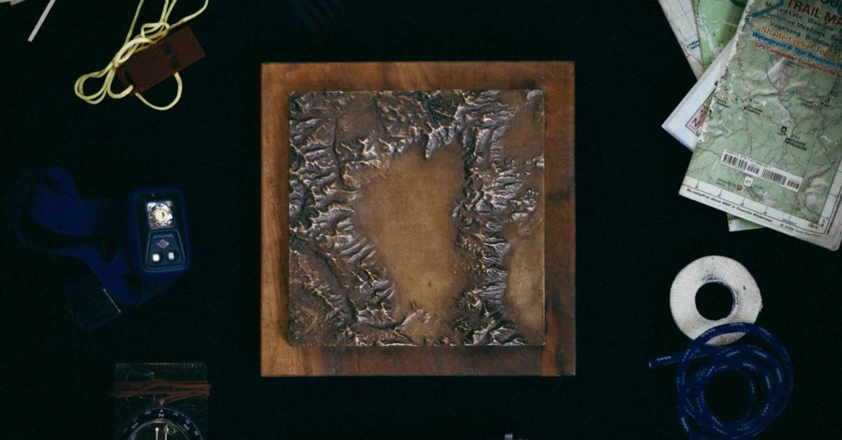 Forged by Fire: Bronze Maps Bring Mountains to Life | GearJunkie