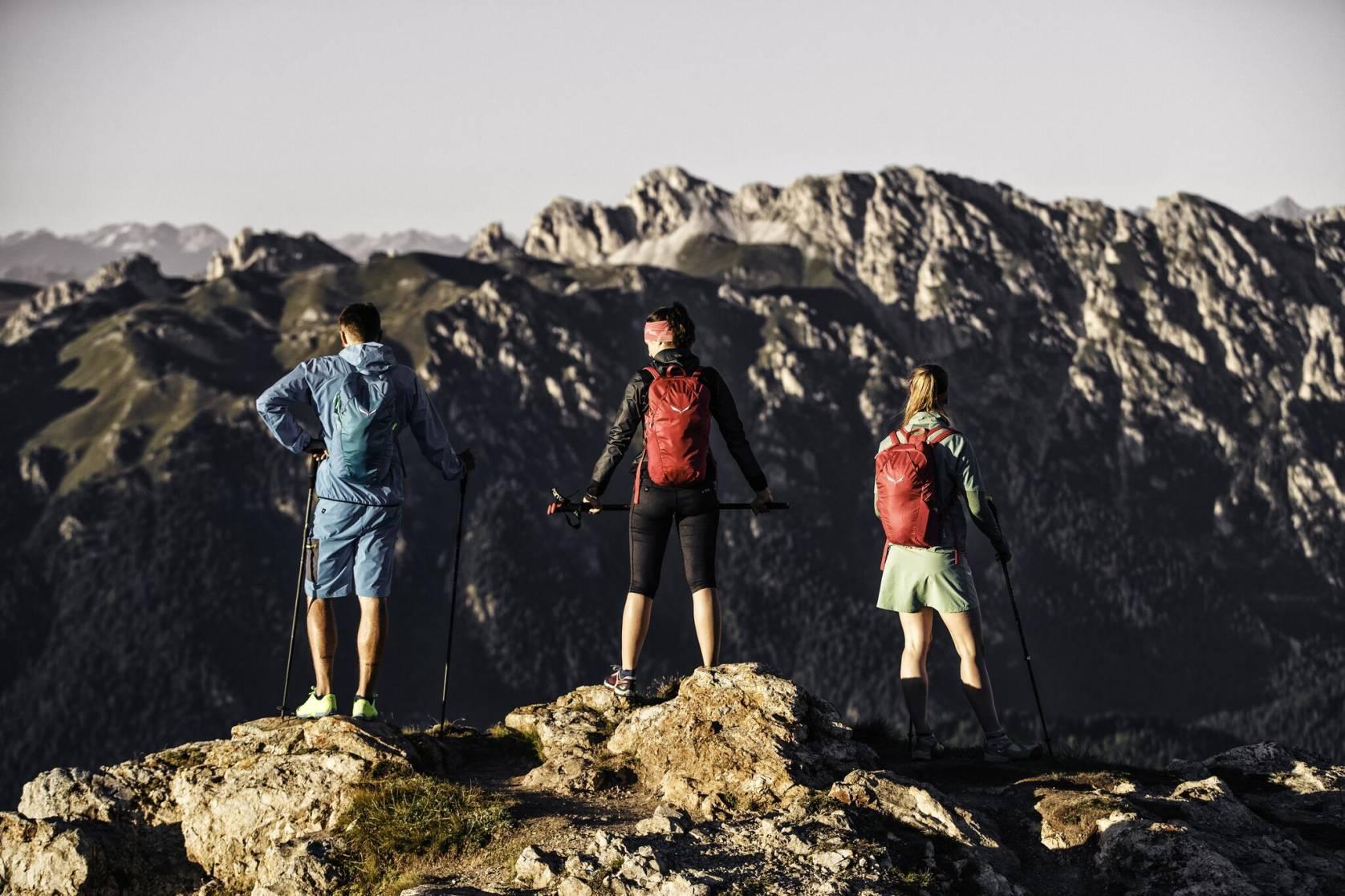 Salewa brand hikers