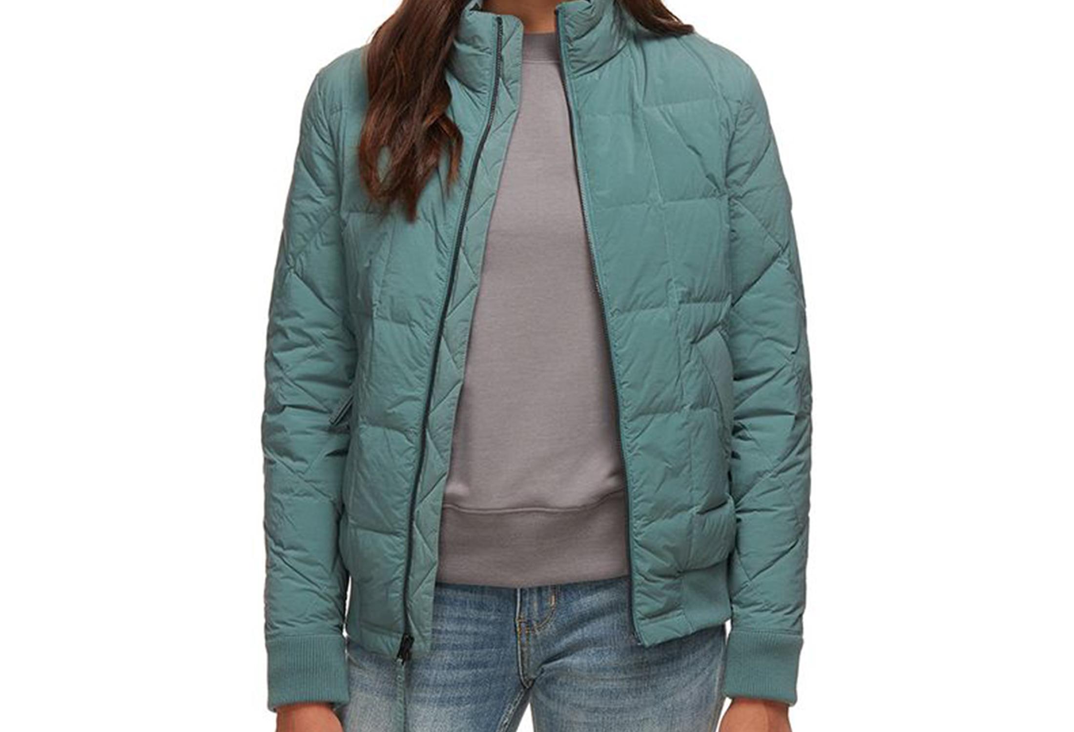 basin and range bomber jacket women's