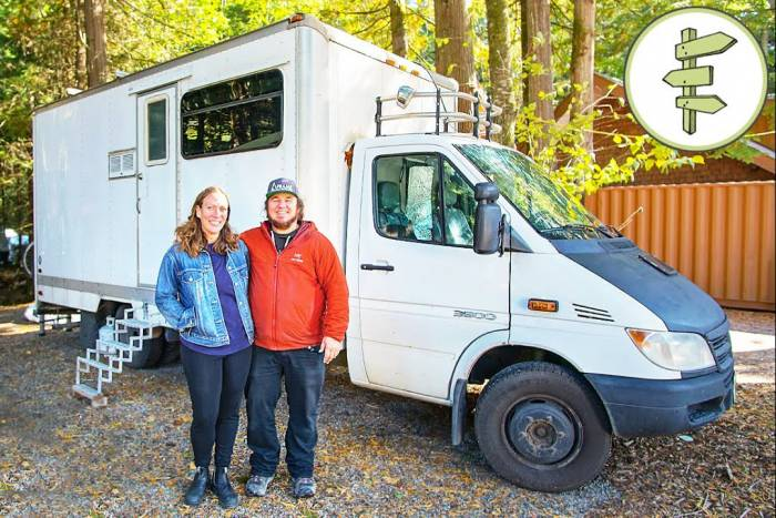 Box Truck Tiny Home: How This Couple Made It Work