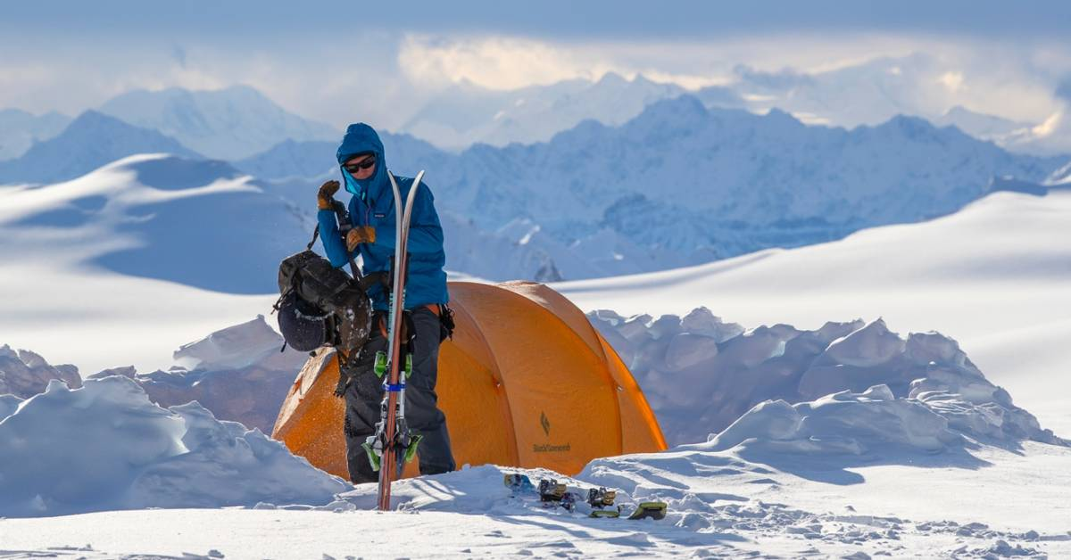 Cornice Falls While Skiers Put New Packs to the Test | GearJunkie