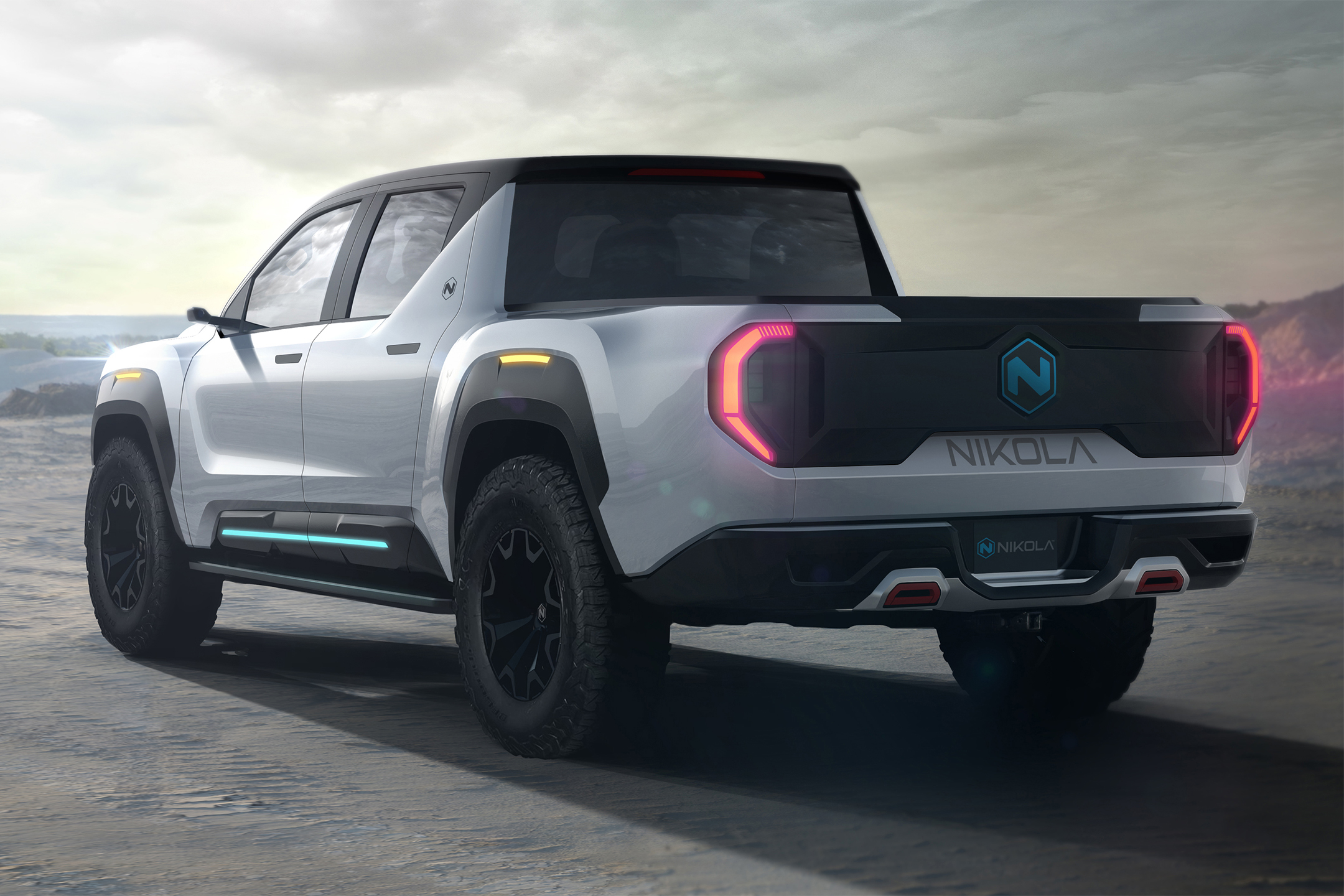 Nikola Badger hydrogen fuel cell electric pickup truck