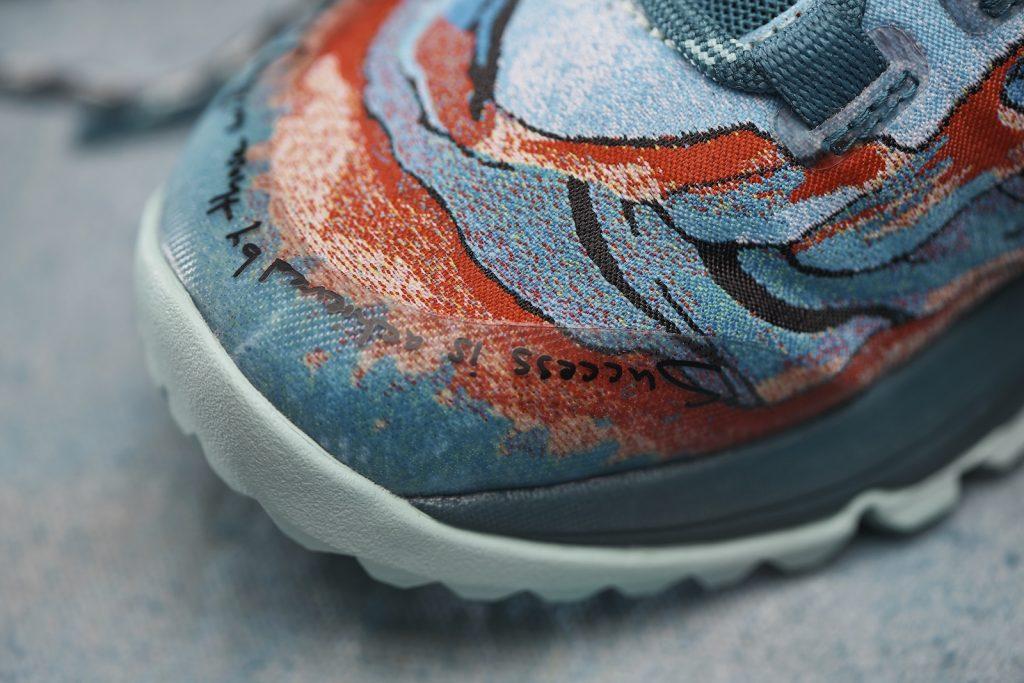 Artist-Designed Trail Shoes