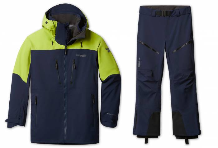 Columbia Peak Pursuit ski kit mens