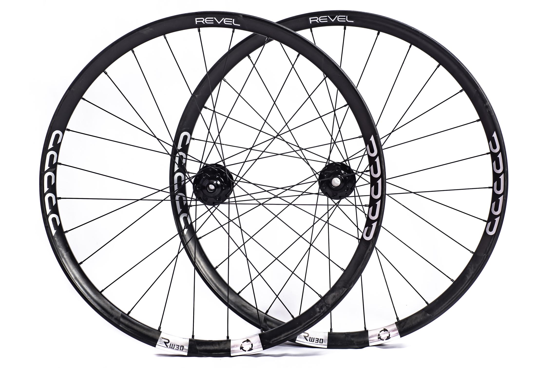 Revel Wheels Fusion Fiber RW30 carbon wheelset