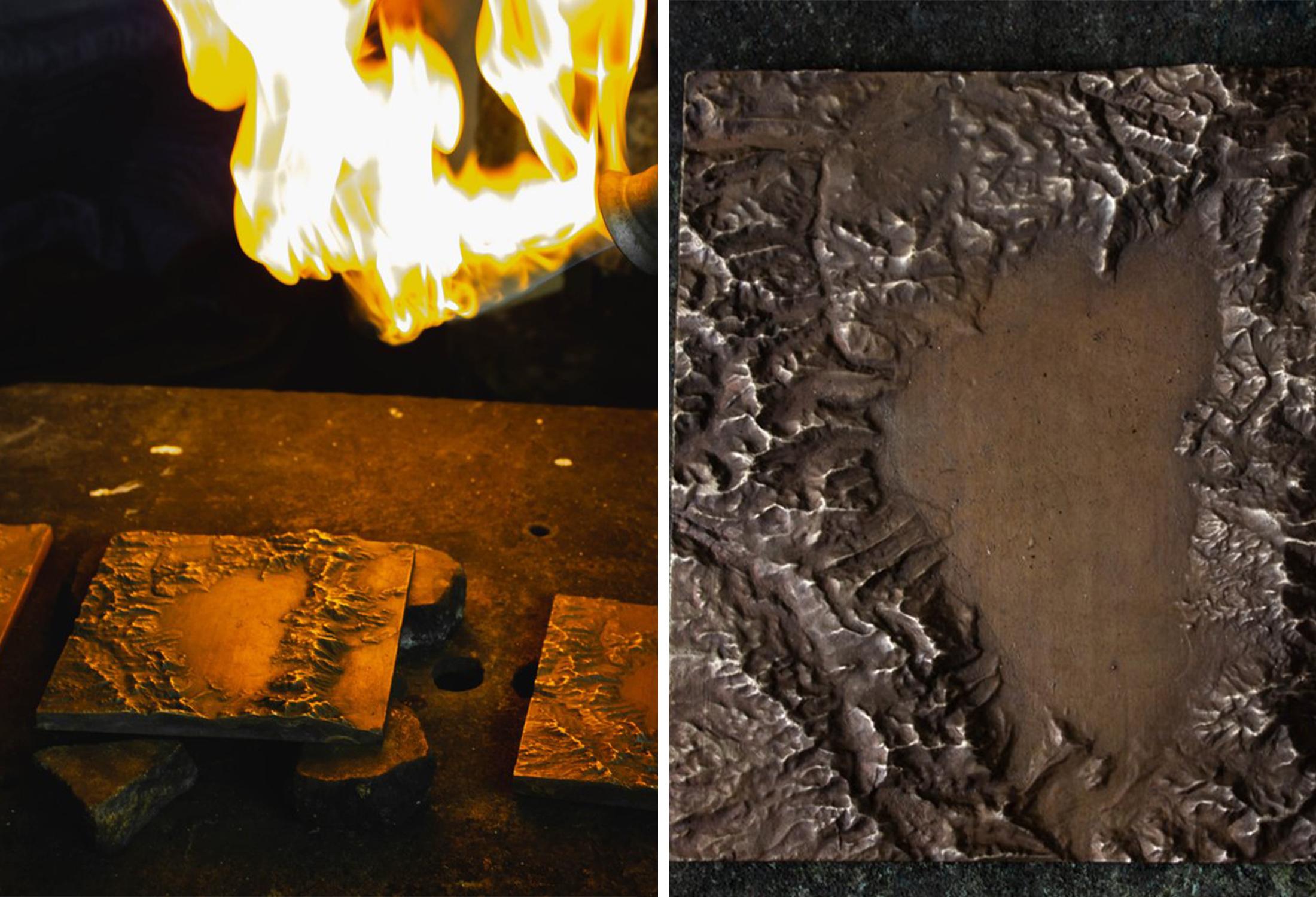 terra mano bronze casting