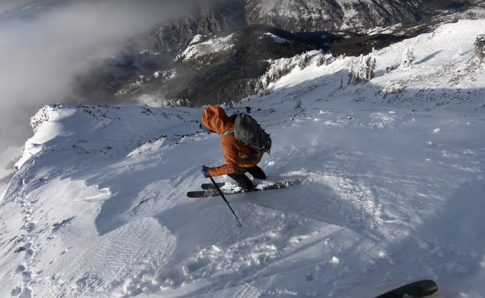 Sketchy Send: Cody Townsend Skis 'Cold Fusion' Avi Line