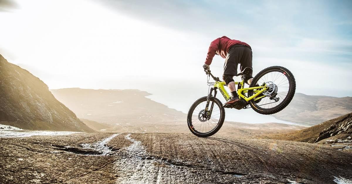Impossible Tricks by Danny MacAskill on a 50-Pound E-Bike | GearJunkie