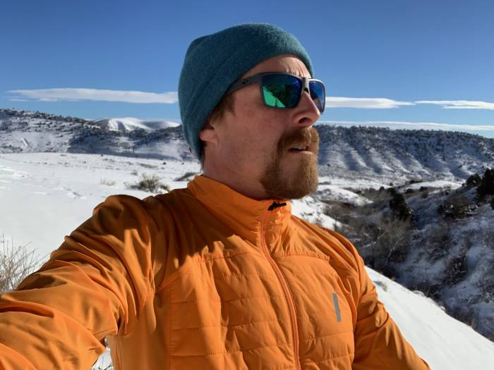 Testing the Daehlie Jacket Winter Run