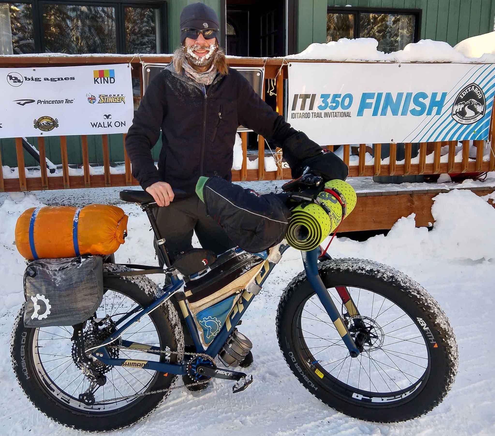 ITI 350 race winner Kurt Refsnider