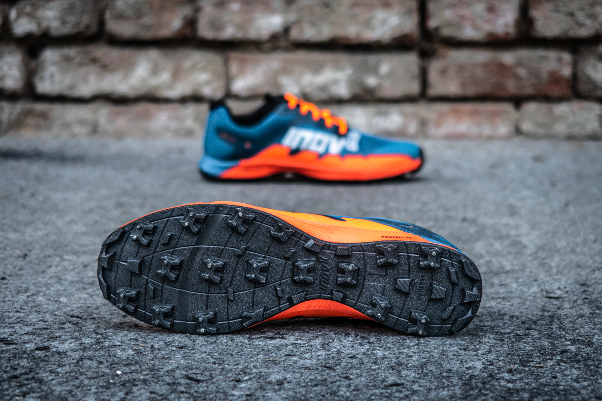 Off-Trail Running Shoes Add Twin Metal