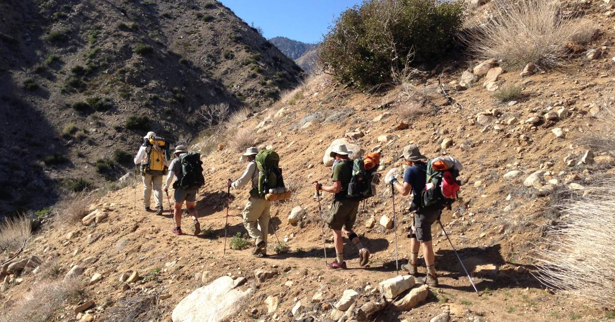 Hiking Through the Desert: How PCT Hikers Do It | GearJunkie
