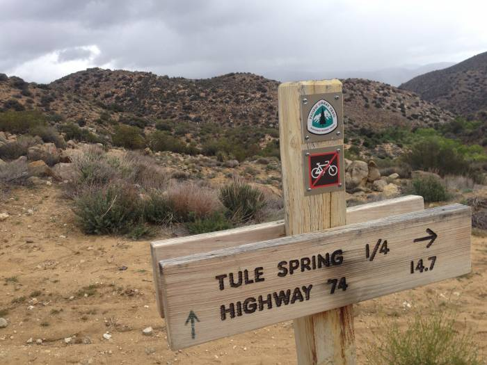 Plan your hiking day around available water sources