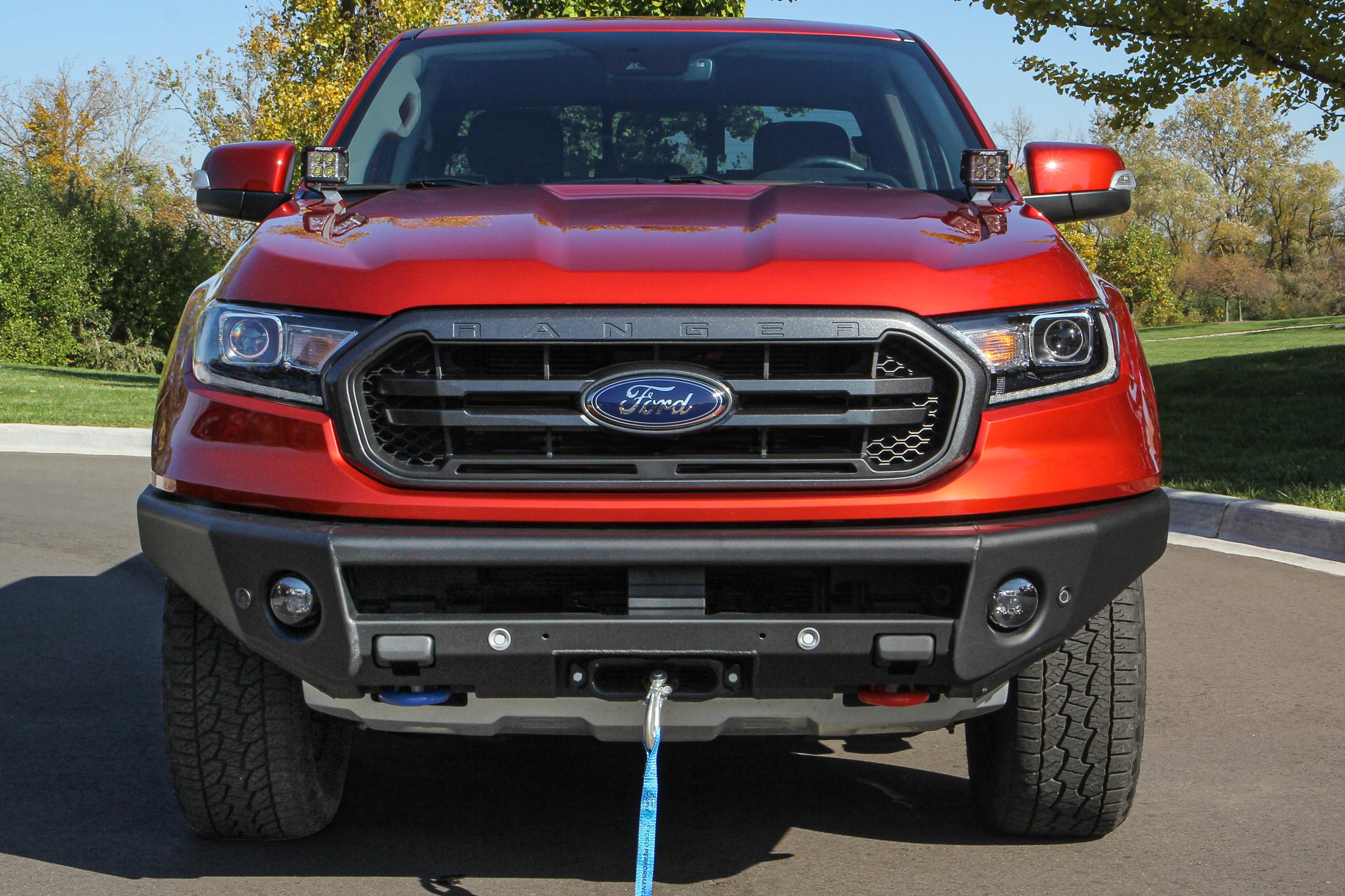 Ford Ranger ARB 4x4 winch bumper
