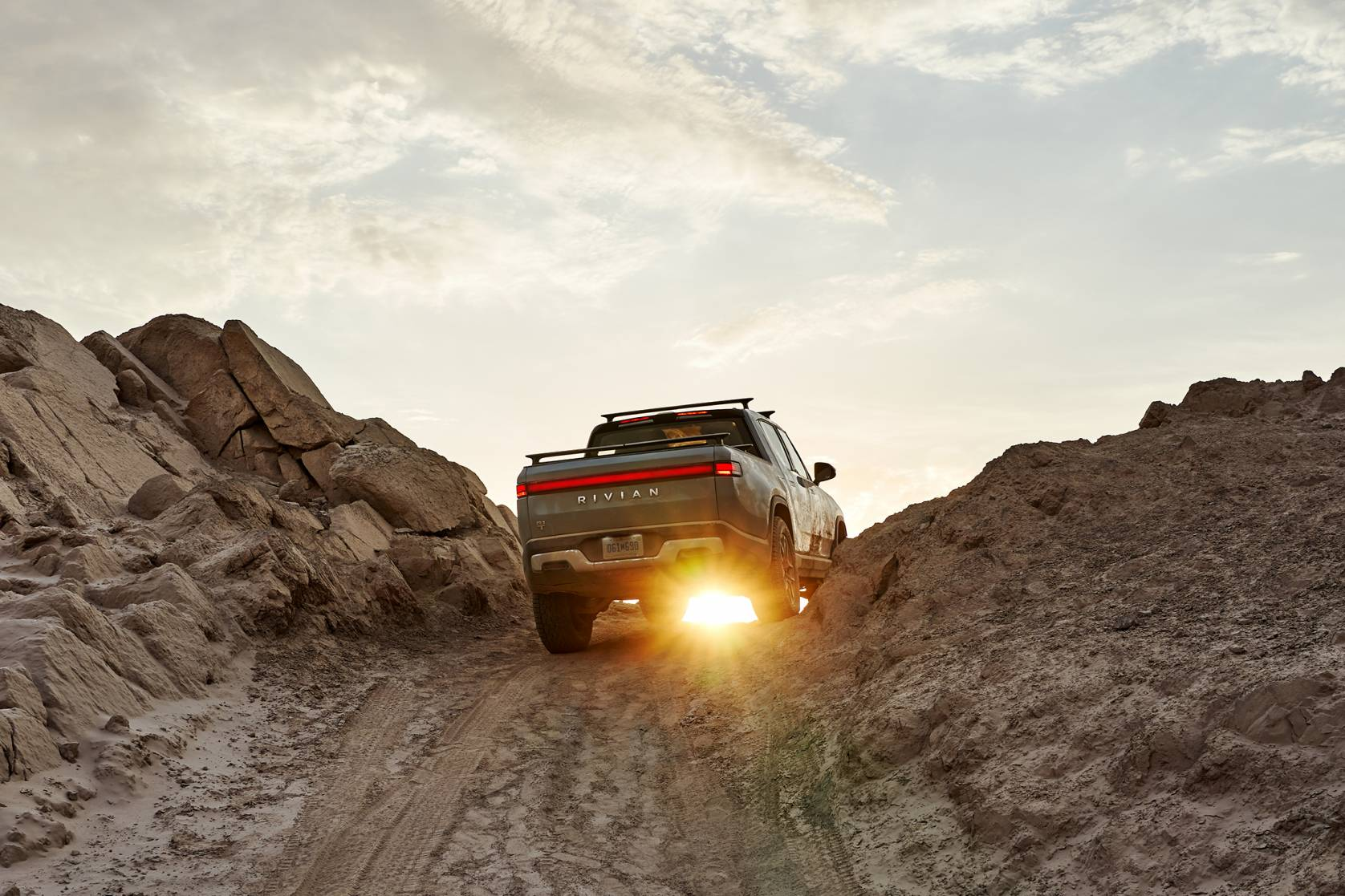 Rivian Truck Tailgate