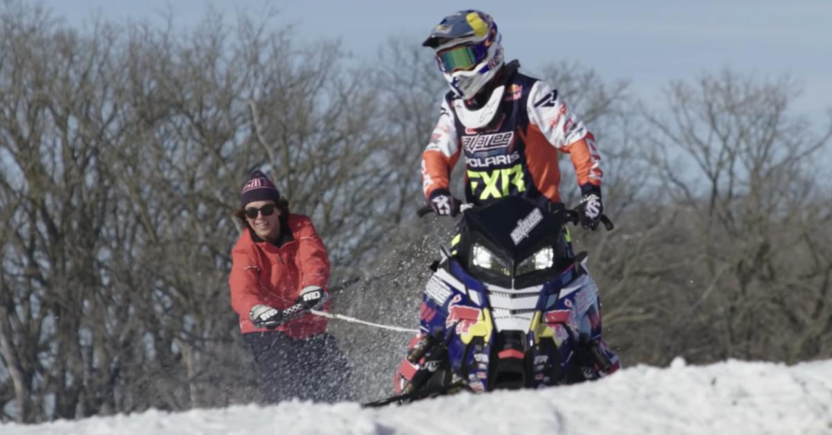 Snowboarding a Hay Field? Sending It on Flat Ground | GearJunkie