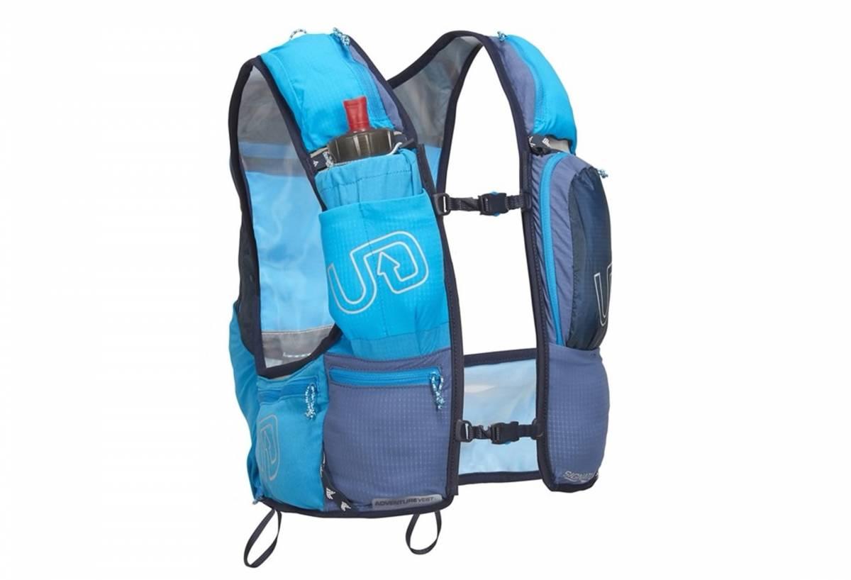 blue hydration vest