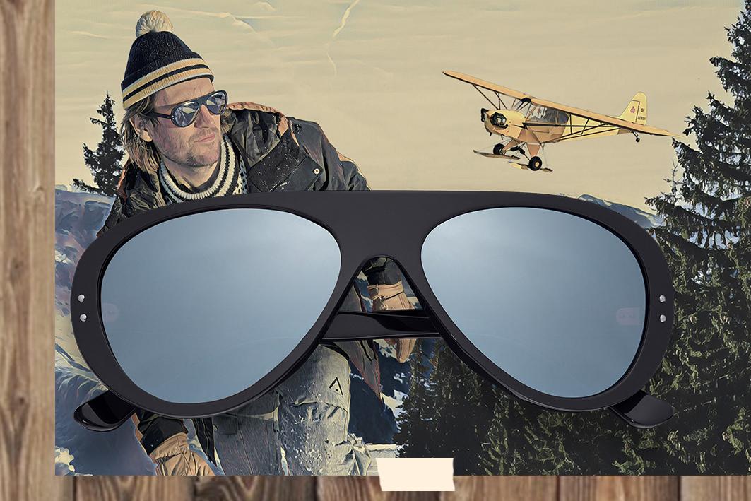 Vallon Aviator ski glasses