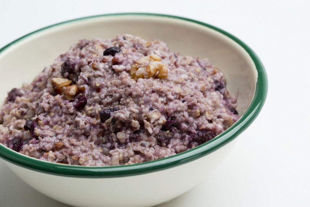 backpacker's pantry organic hot blueberry walnut oat & quinoa