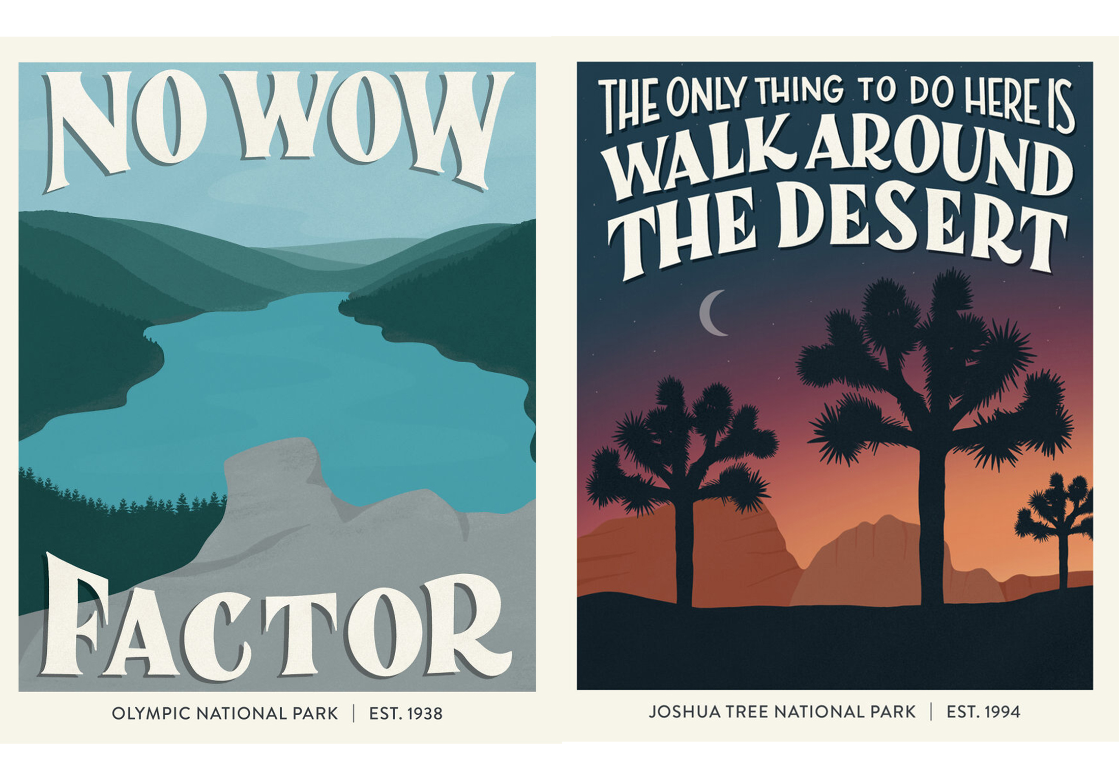national park posters