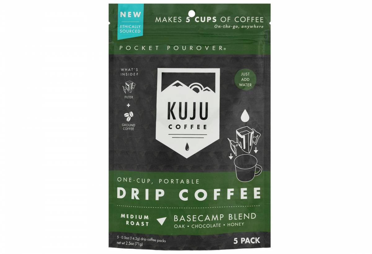 kuju pour-over travel coffee