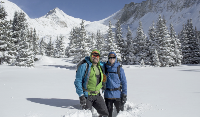 Lakota Backcountry Skier Puts Native Americans in the Lens