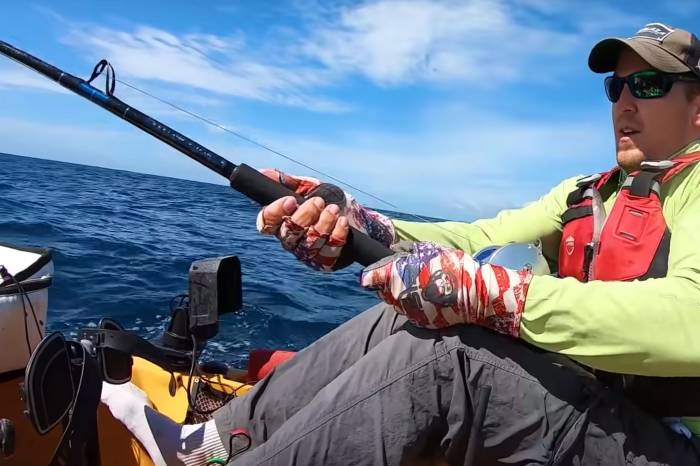 500-Pound Marlin Drags Kayaker 15 Miles Out to Sea