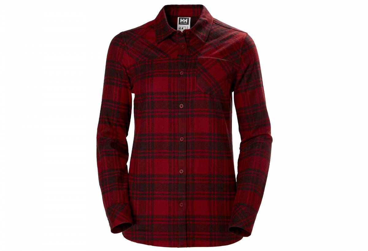 Helly Hansen checkered flannel