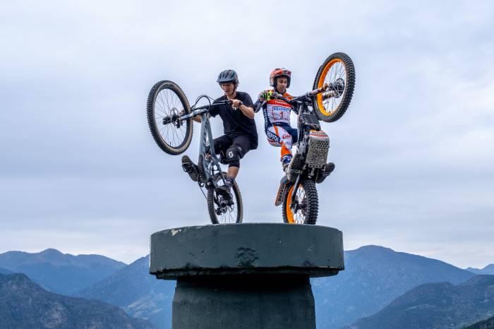 Moto vs. MTB Trials Challenge: Who Will Win?